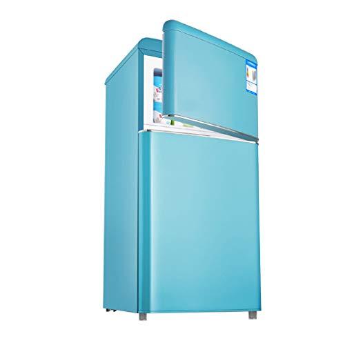 Refrigerador Retro De Doble Puerta con Capacidad De 118 litros,Sala De