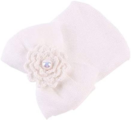Iumer Newborn Cap All items in the store Beanie Baby Be super welcome Infant Toddler Girls Flower So Bow