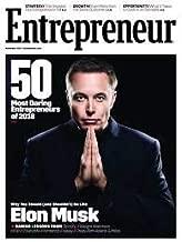 Entrepreneur Magazine (November, 2018) Elon Musk Tesla CEO Cover