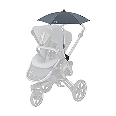 Bébé Confort - Sombrilla parasol para cochecito de bebé, protección UV 50+, flexible e inclinable, color grafito Essential