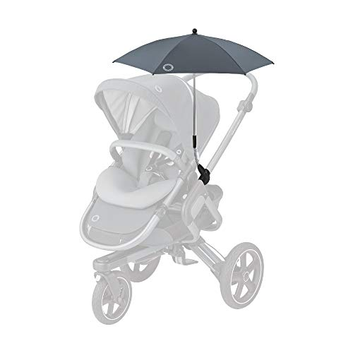 Bébé Confort - Sombrilla para cochecito, protección anti UV 50+, flexible e inclinable, color Essential Graphite