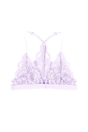 HAH SistHAH Lace Racerback Bralette Lavender