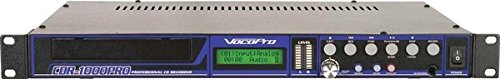 VocoPro CDR-1000 Pro Professional Single Space CD Recorder/ Player