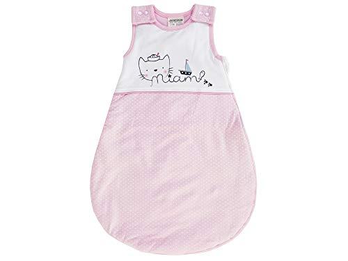 Jacky Baby Mädchen Bambus Sommer-Schlafsack BAMBOOLINA, Größe:86, Farbe:rosa