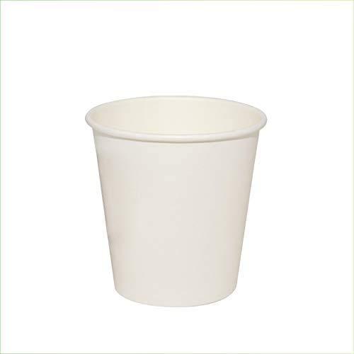 VIRSUS 500 Bicchieri in Carta per Acqua 180ml Colore Bianco biodegradabili cartoncino