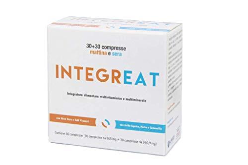 IntegrEat - Suplemento alimenticio para pacientes bariátricos 60 comprimidos - Multivitamínico y multimineral con doble formulación, por la mañana y por la noche