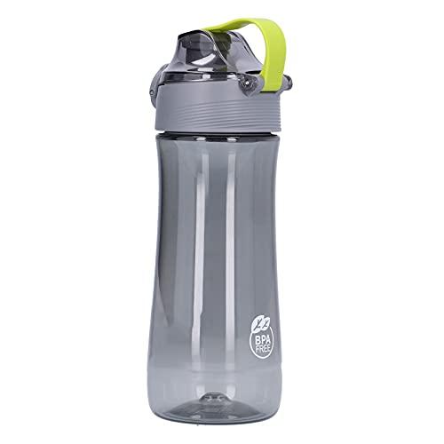 Gmkjh Botella de Agua, Botella para Beber, Botella Deportiva de 440 ml con Tapa Botella de Agua translúcida de Gran Capacidad para Deportes al Aire Libre
