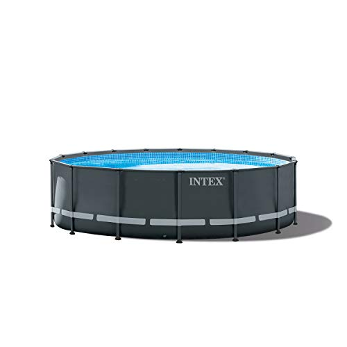 Intex 16ft X 48in Ultra XTR Pool Set with Sand Filter Pump, Ladder, Ground Cloth & Pool Cover