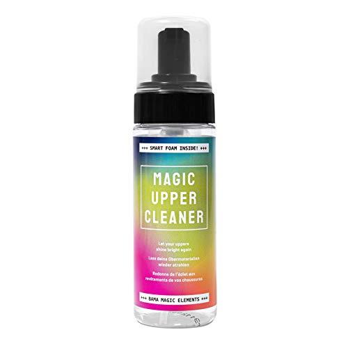 Bama Magic Upper Cleaner, Hochwirksamer Schuhreiniger, Reinigung von allen Schuhobermaterialien, Wasserbasiert, Oeko-Tex® zertifiziert, Farblos, 150ml