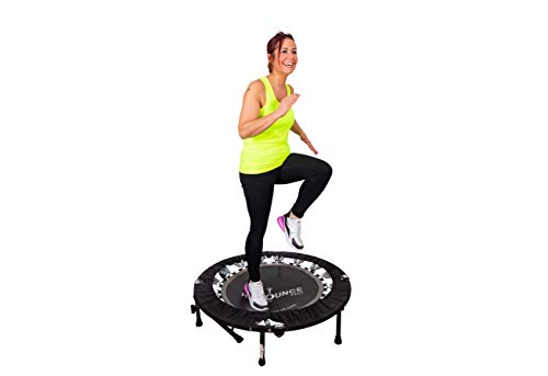 MaXimus HIIT Bounce PRO | Workout Trampoline For Adults | Folding Rebounder with Flat or...