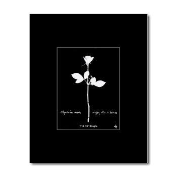 DEPECHE MODE - Enjoy The Silence Matted Mini Poster - 13.5x10cm
