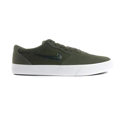 Nike Zapatillas de Fitness Unisex SB Chron SLR, Sq Blk Sq Gum Light Brown, 42.5 EU