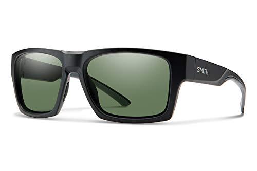 Smith Optics Outlier XL 2 Sunglasses, Matte Black/ChromaPop Polarized Gray Green, One Size -  OX2CPGNMB