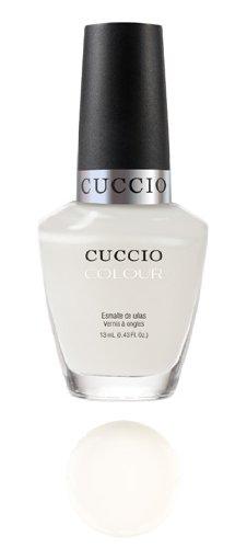 Cuccio Color Vernis à ongles professionnel Verona Lace Blanc brillant 13 ml