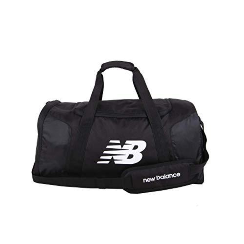 New Balance Sport-Sporttasche für Herren und Damen, Mehrfachtaschen-Tasche für Fitness oder Reisen, Einheitsgröße, Schwarz