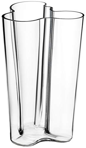 Iittala Alvar Aalto Collection - Finlandia Vase - 251 mm - Klar