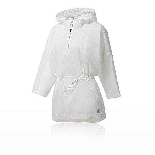 Reebok Comp Damen Regenjacke, Poncho, weiß–(weiß)