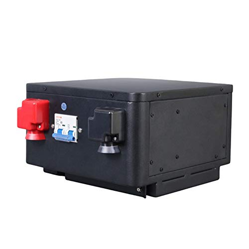 LeiQuanQuan 2020 12v Batería De Ciclo Profundo De La Batería De 100 Ah LiFePO4, RV Solar Batería Recargable, Compatible con Las Baterías De Iones De Litio (Power : 12v100ah)