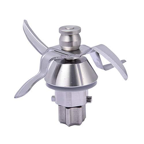 WULE Máquina de mezcla de la mezcla de la mezcla de frutas de 4 cuchillas de acero inoxidable de la máquina de mezcla de carne de fruta y vegetal para Vorwerk Thermomix TM31 Herramienta de cocina