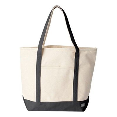 Extra Large Cotton Canvas Tote Bag for Grocery, Kids, Craft, or Decorate