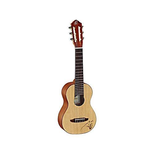 Ortega Guitars Bonfire Series, 4-String Ukulele, Right (RU5-SO) Bonfire Series 6 String Classical Guitar, Right-Handed, Acoustic, Guitarlele...