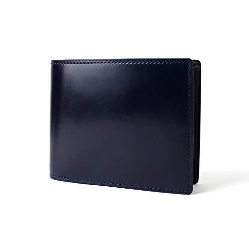 [ポーター]PORTER BILL CORDVAN ビル コードバン 二つ折り財布 184-02270 ディープブルー/50