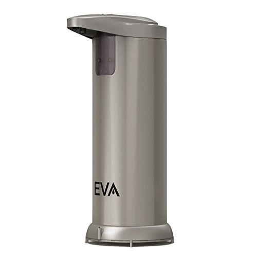 LIMITED OFFER! EVA Premium Automatic Touchless Soap Dispenser (Hand Sanitizer) for Bathroom &...
