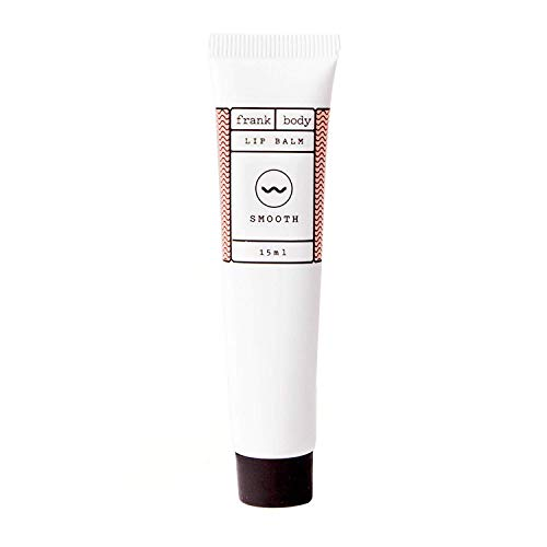 Frank Body Lip Balm   Natural & Petroleum Free Lip Moisturizer For Dry Skin   Multi-Purpose Lanolin Balm for Lips, Cuticles, Brows & Dry Patches   Made From Coffee Seed & Coconut Oils   15ml -- 0.15oz