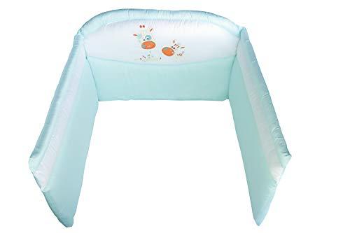 Picci Paracolpi - Nestchen Mod. 12 Pepe türkis für Kinderbett/Babybett