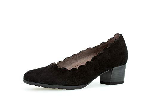 Gabor Damen Trotteur 32.211, Frauen Court-Shoes,Absatzschuhe,Abendschuhe,Stöckelschuhe,schwarz,39 EU / 6 UK