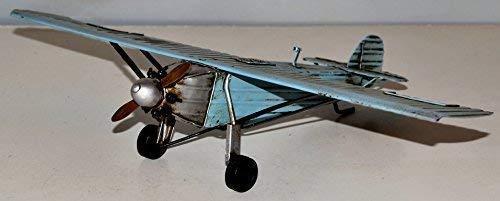 Avión Spirit of St, Louis chapa avión chapa modelo Tin Model Vintage wellenshop 22 x 35 cm 37240