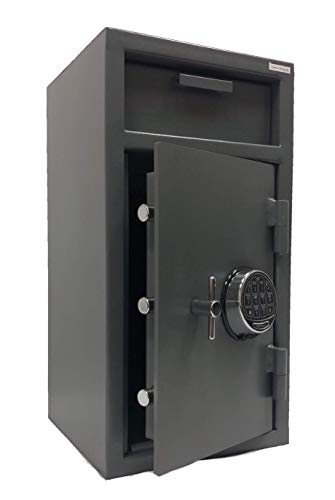 SOUTHEASTERN Drop Depository Safe with Quick Digital Lock & Back up Keys Improved Handle Cam Assembly
