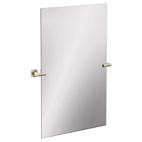 Moen BP1892BN Triva Pivoting Adjustable Bathroom Vanity Mirror, Brushed -