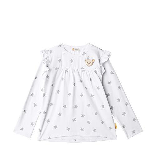 T-Shirt langarm mit Sternen und Rüschen