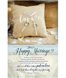 Standard Bulletin 11 - Wedding - Love for a Happy Marriage (Pack of 100)