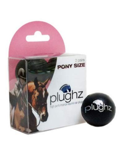 Plughz Equine Ear Plugs 2 Paar Premium Ohrstöpsel für Pony