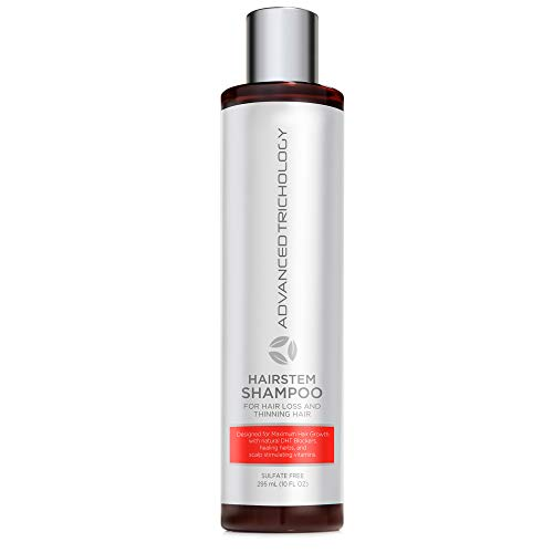HairStem DHT Blocker Hair Growth Shampoo Products with Biotin, Saw Palmetto - Clinically Developed - Hair Loss Products Treatments- 10oz