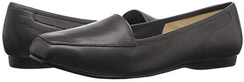 Price comparison product image Bandolino Women's Liberty Flat, Black Leather, US 5 N