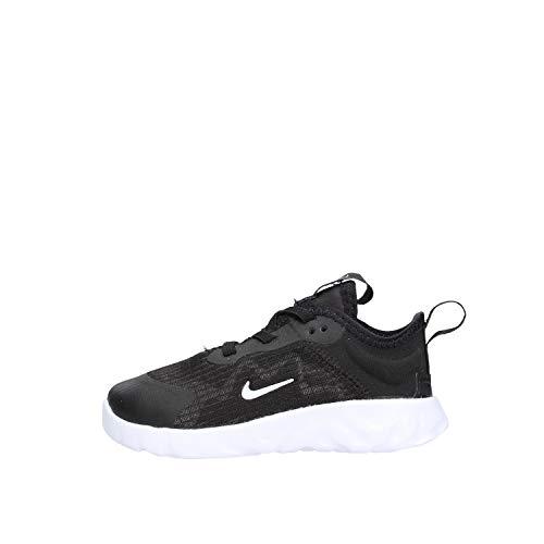 Nike Renew Lucent (TD) Walking-Schuh, Black/White, 25 EU