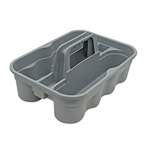 YARNOW Chariot de Transport 1Pc Polyvalent Caddy Polyvalent avec Poignée Portable Attachée pour Produits de Nettoyage Vaporisateurs Bouteilles de Sport/Eau