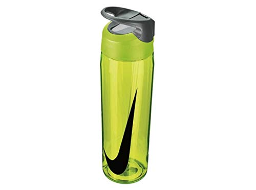 Nike TR Hypercharge Straw Bottle 24oz/709 ml volt/cool grey/black