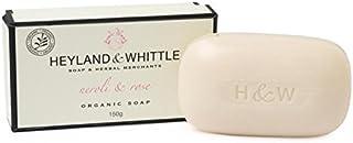 &削る有機ネロリ&ソープバー150グラムをバラ x4 - Heyland & Whittle Organic Neroli & Rose Soap Bar 150g (Pack of 4) [並行輸入品]