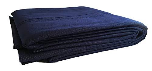 10 Stück Patientendecke/Einmal-Decke mit Polyester-Baumwollwattefüllung, 400g dick, 110x190cm, Rettungsdecke Hundedecke Einwegdecke