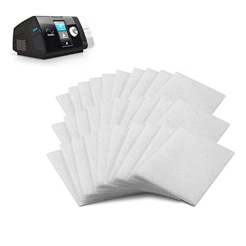 CPAP Luftfilter - Premium Ultrafeine Hypoallergene Einwegfilter für CPAP Maschinen - Kompatibel mit ResMed Air 10, Airsense 10, Aircurve 10, S9 Serie und mehr - 30 Filter