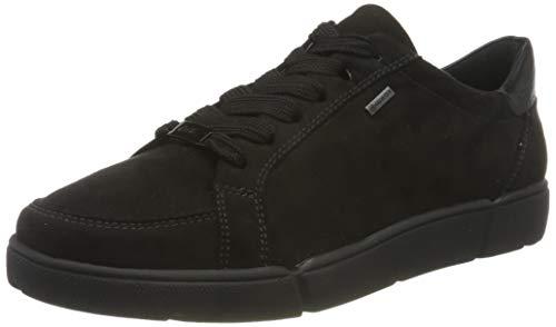ara Damen ROM 1214433 Sneaker, Schwarz (SCHWARZ 01), 37 EU