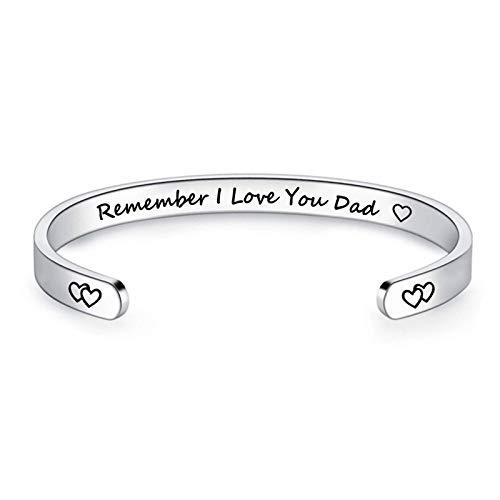 Family Bracelet DIY Lettering MOM DAD Son Daughter Stainless Steel Open C Shaped Bracelet Gift