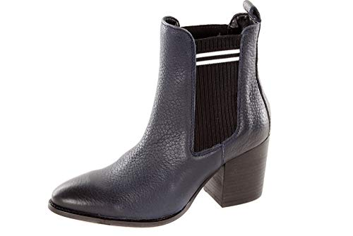 Tommy Hilfiger Botines para mujer Sock MID Heel Chelsea, color Azul, talla 42 EU