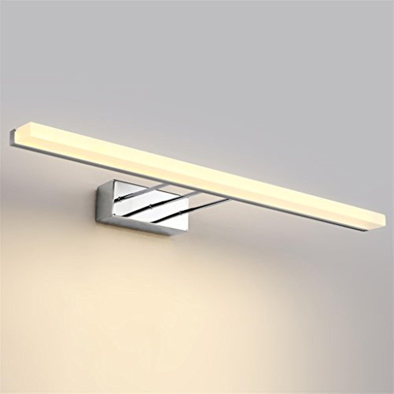 QWM-Badspiegellampe Moderne einfache Art und Weise LED wasserdichte Anti-Nebel-Spiegel-Frontseiten-Licht-Verfassungs-Lampen-Badezimmer-Wand-Lampe QWM-Bad Wandleuchten (Farbe   8W 40CM)