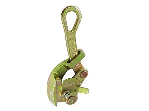 YJINGRUI Draht-Griff Stahl Ziehwerkzeug für Drahtseil Kabelklemme Draht Ziehgriff Handabzieher, 2T, 1