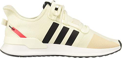 adidas Herren U_Path Run Sneaker, Off White Off White Core Black Shock Red 10013283, 42 EU